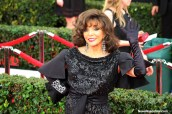 A Joan Collins sighting on the red carpet of the 21st SAG Awards. Photo by Dennis J. Freeman/News4usonline.com