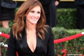 Pretty Woman: Julia Roberts is all that and a bag of chips on the red carpet of the 21st SAG Awards Sunday, Jan. 25, 2015. Photo by Dennis J. Freeman/News4usonline.com