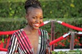 """""""12 Years a Slave"""" star Lupita Nyong'o brings out the glimmer and glam to the red carpet. Photo by Dennis J. Freeman/News4usonline.com"""