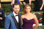 Matthew McConaughey (Interstellar) and wife Camila Alves lit up the SAG Awards red carpet. Photo by Dennis J. Freeman/News4usonline.com