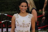 Paula Patton (About Last Night) seems to have plenty of energy as she walked the red carpet of the 21st SAG Awards. Photo by Dennis J. Freeman/News4usonline.com