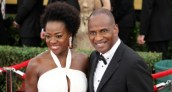 Viola Davis (How to Get Away With Murder) with husband on the red carpet at the 21st Screen Actors Guild Awards at the Los Angeles Exposition Center in Los Angeles,California. Photo by Denis J. Freeman/News4usonline.com