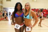 Double-trouble at the LA Clippers Spirit Dance Team audition in Redondo Beach, California. Photo by Dennis J. Freeman/News4usonline.com
