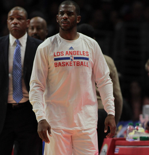Chris Paul scored 11 points and handed off eight assists against Detroit. Photo by Jevone Moore/News4usonline.com