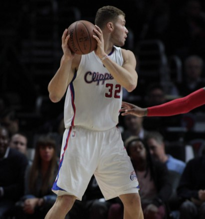 Blake Griffin scored 26 poinst against the San Antonio Spurs as the Clippers won Game 1 with a 102-87 victory. Photo by Jevone Moore/News4usonline.com