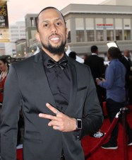 Comedian and actor Affion Crockett on the red carpet of the 46th NAACP Image Awards. Photo by Dennis J. Freeman/News4usonline.com