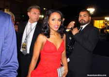 Scandal actress Kerry Washington makes way up the red carpet at the 46th NAACP Image Awards. Photo by Dennis J. Freeman/News4usonline.com