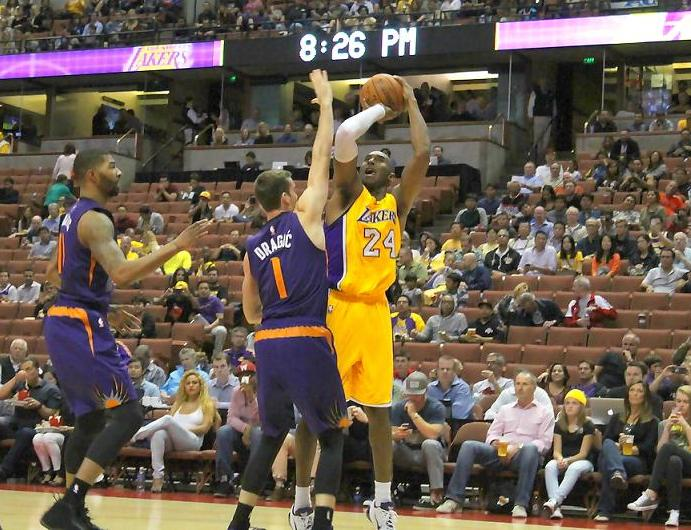 The success of NBA players like Kobe Bryant (24) are the more the reason why there should not be a mandatory age limit in the league. Photo by Dennis J. Freeman/News4usonline.com
