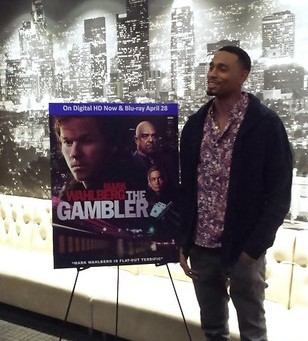 """Actor Anthony Kelly at the  DVD release party for """"The Gambler."""""""