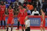 Los Angeles Clippers vs Houston Rockets/Photo by Jevone Moore/News4usonline.com