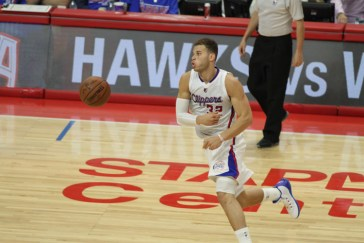 Blake Griffin in action against the Houston Rockets in Game 6. Photo by Jevone Moore/News4usonline.com