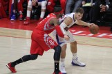 The Rockets' Josh Smith plays some defense on Blake Griffin in Game 6. Photo by Jevone Moore/News4usonline.com