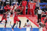 Los Angeles Clippers vs Houston Rockets/Photo by Jevone Moore/News4usonline.com