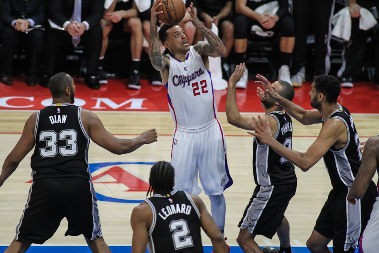 Matt Barnes came through for the Los Angeles Clippers in Game 7, scoring 17 points in the team's 111-109 series-clinching win at Staples Center. Photo Credit: Jevone Moore/News4usonline.com