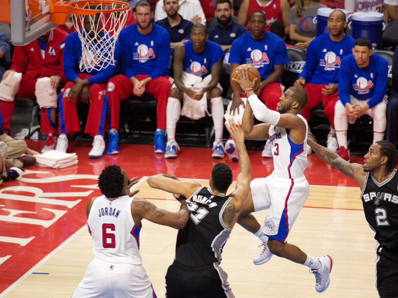 Chris Paul, the unquestioned leader of the Los Angeles Clippers. Photo Credit: Tiffany Zablosky/News4usonline.com