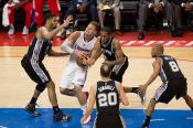 Blake Griffin has been a point of emphasis for the Spurs' defense throughout the series. Photo Credit: Tiffany Zablosky/News4usonlin,com