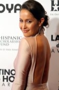 """Rosewood""actress Jaina Lee Ortiz. Photo by Dennis J. Freeman/News4usonline.com"