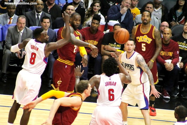 LeBron James is going to have rally his team from an 0-2 deficit against the Golden State Warriors. Photo by Dennis J. Freeman/News4usonline.com
