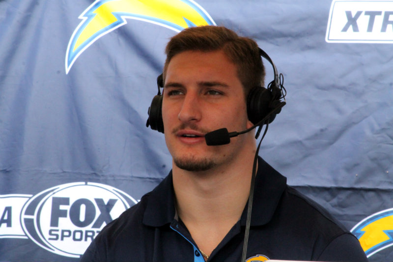 Joey Bosa appeared at the San Diego Chargers Draftfest on Saturday, April 30, 2016. Photo by Dennis J. Freeman/News4usonline.com