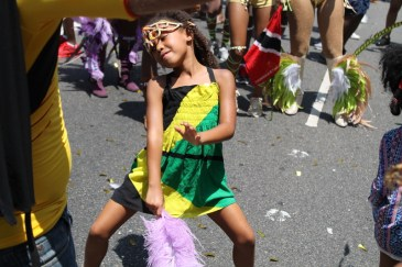 Scene from the 5th Annual Hollywood Carnival street parade on Saturday, June 25, 2016. Photo by Dennis J. Freeman