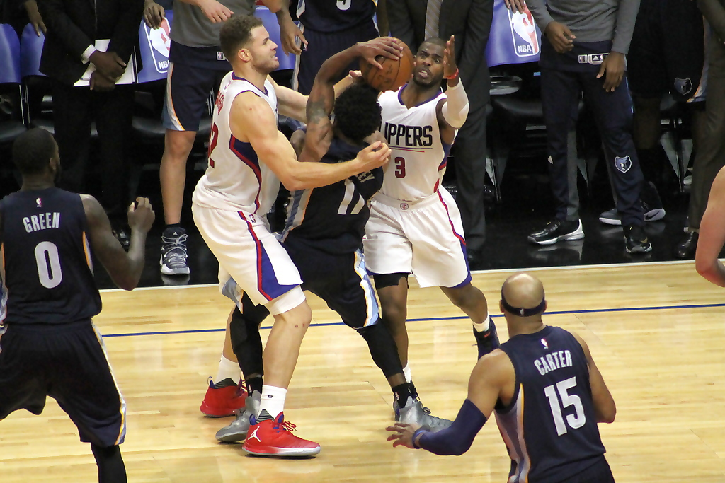 Both Blake Griffin (left) and Chris Paul are off to good starts for the Los Angeles Clippers. Photo by Dennis J. Freeman/News4usonline.com
