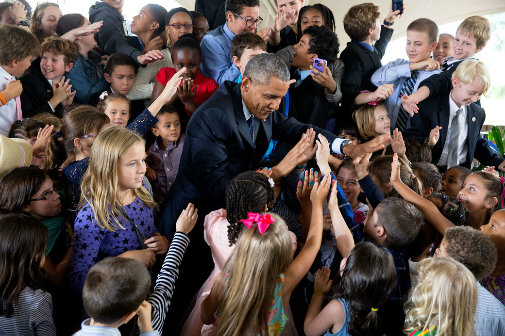 Barack Hussein Obama, my president
