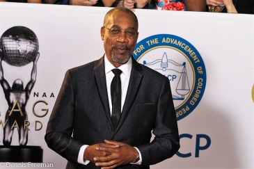 """""""Scandal"""" star Joe Morton on the red carpet at the 49th Annual NAACP Image Awards on Monday, Jan. 15, 2018. Photo by Dennis J. Freeman"""