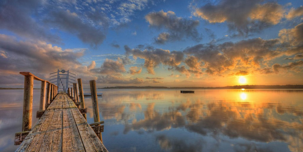 photo credit: Jacob Surland Sunrise over the Fiord via photopin (license)