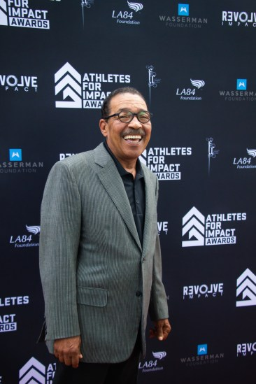 Los Angeles City Councilman Herb Wesson Jr. attending the Athletes for Impact Awards. Photo by Jada Stokes for News4usonline