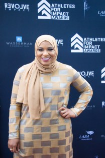 Olympian Ibitihaj Muhammad is the first American Muslim to win an Olympic medal. Photo by Jada Stokes for News4usonline