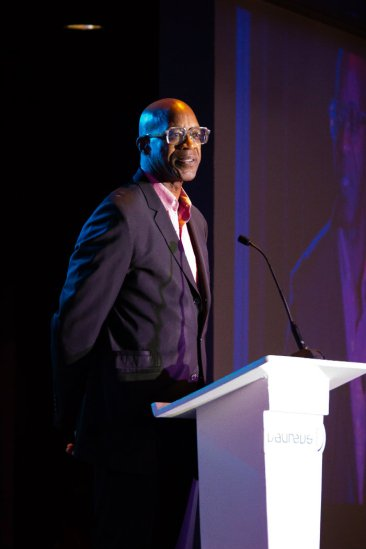 Olympic great Edwin Moses. Photo by Jada Stokes for News4usonline