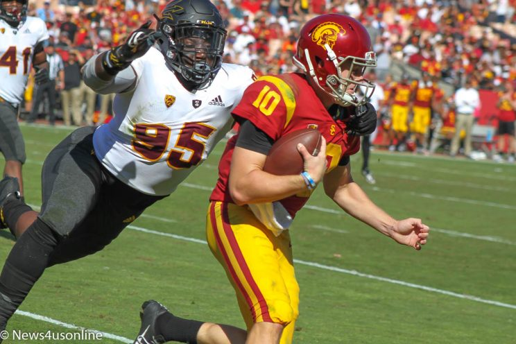 College Football-Arizona State-USC
