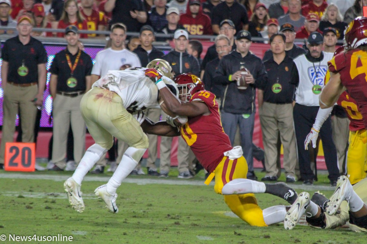 Trojans stop Buffaloes in their tracks