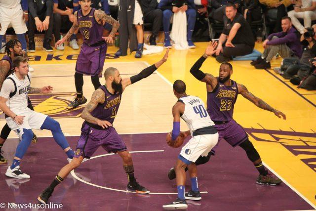 Lakers versus Dallas