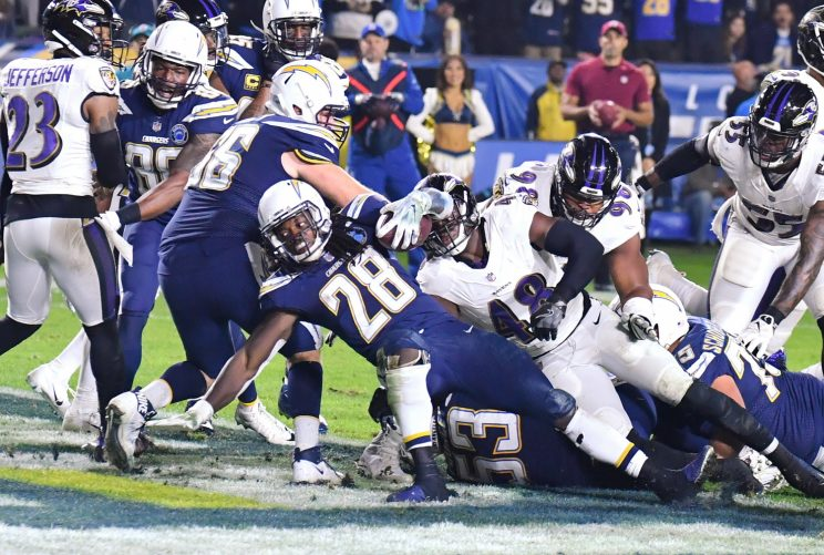 Chargers and Ravens