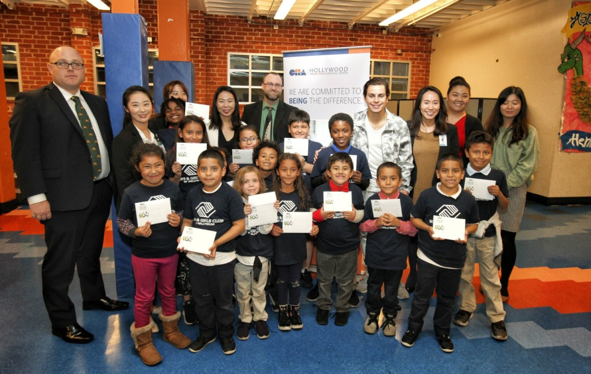 Christmas comes early for Hollywood Boys & Girls Club