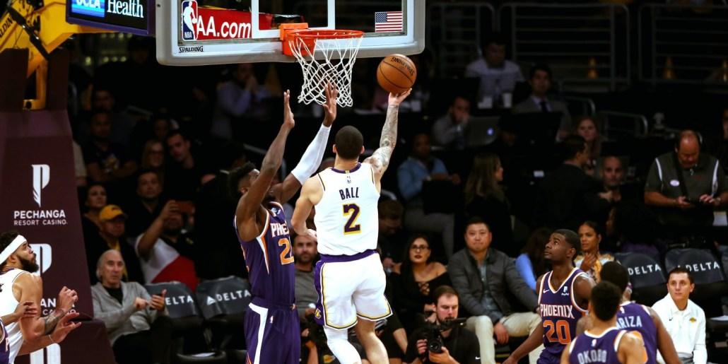 Lakers versus Suns