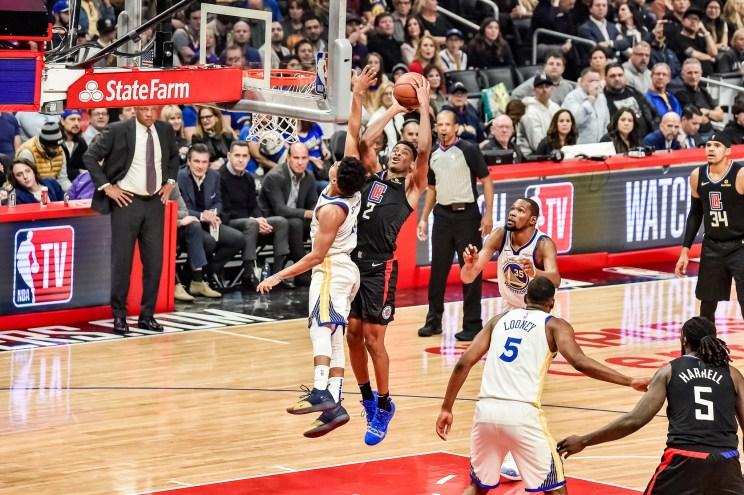 NBA basketball action: Shai Gilgeous Alexander