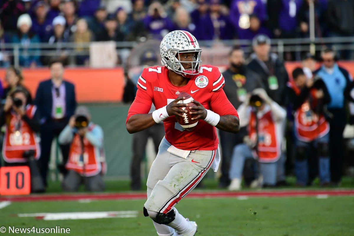 Ohio State quarterback Dwayne Haskins