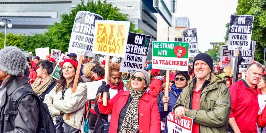 United Teachers Los Angeles strike