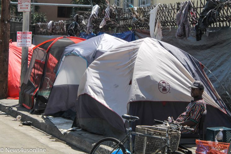 homelessness in Los Angeles County