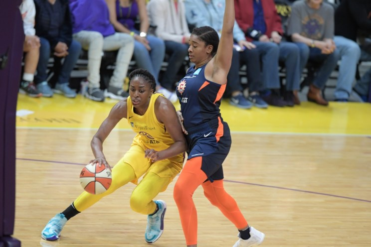 WNBA: Los Angeles Sparks versus Connecticut Sun