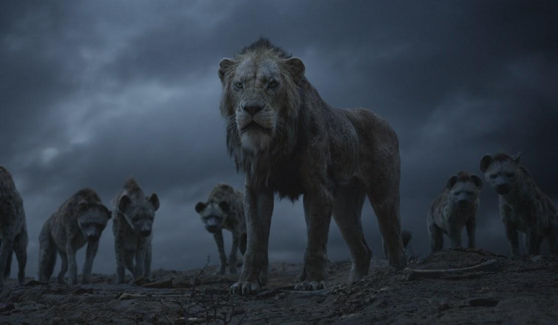 "Scar in Disney's ""The Lion King."""
