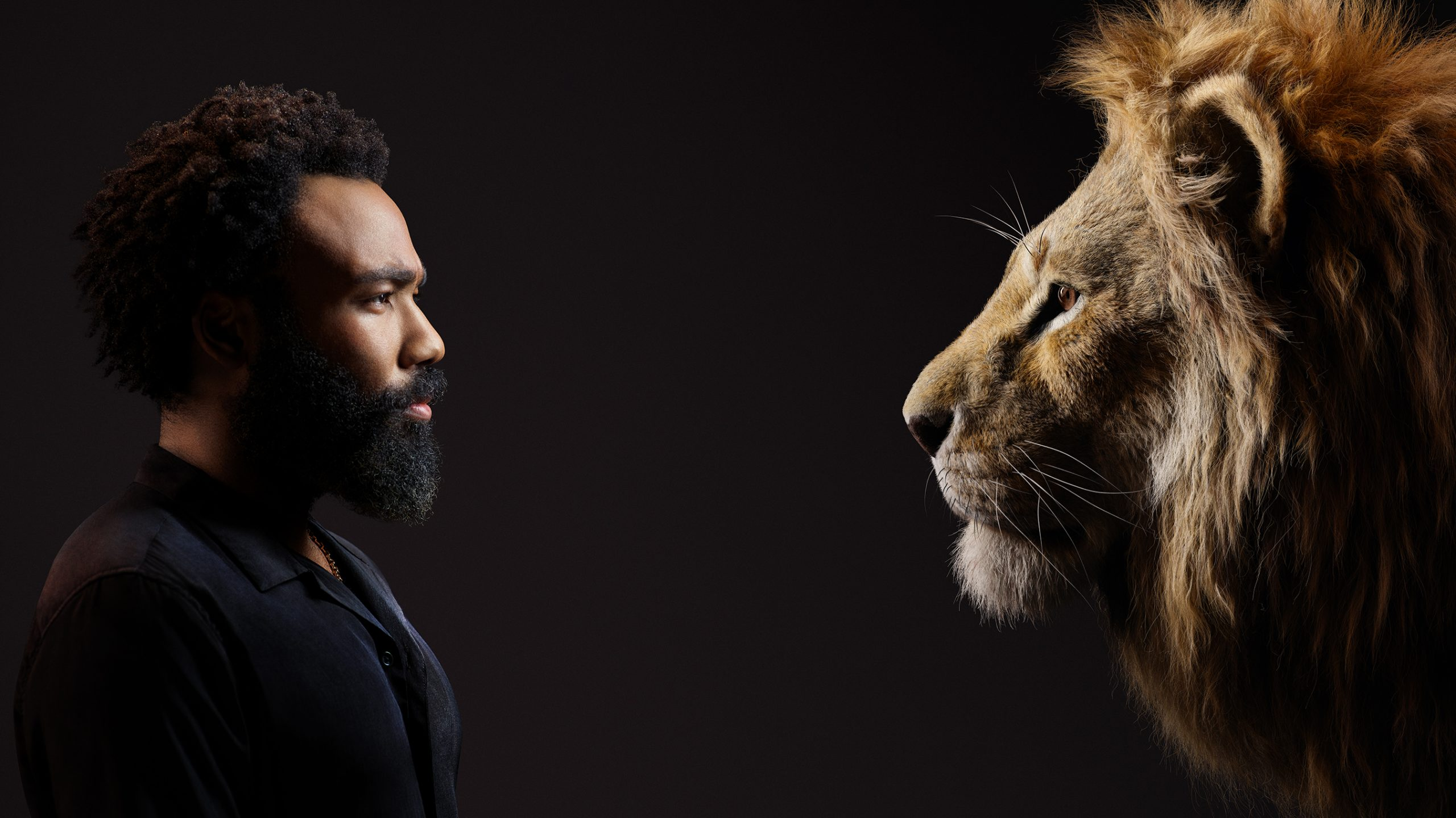 "Donald Glover as Simba in Disney's ""The Lion King."""