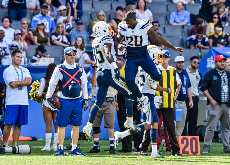 Los Angeles Chargers and New Orleans Saints - NFL