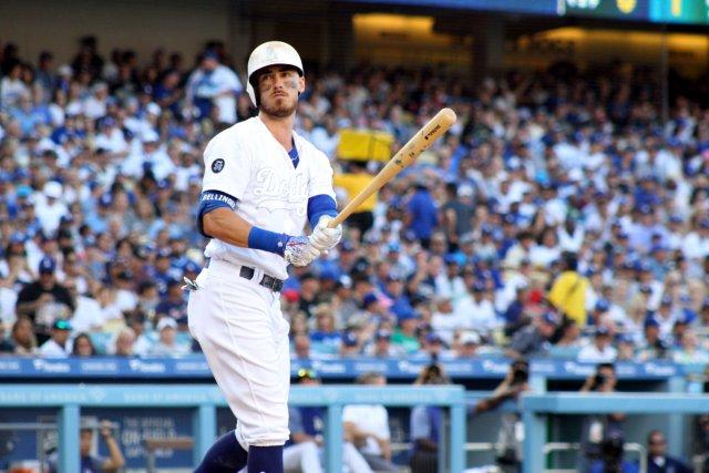 Dodgers-Yankees play at Dodger Stadium