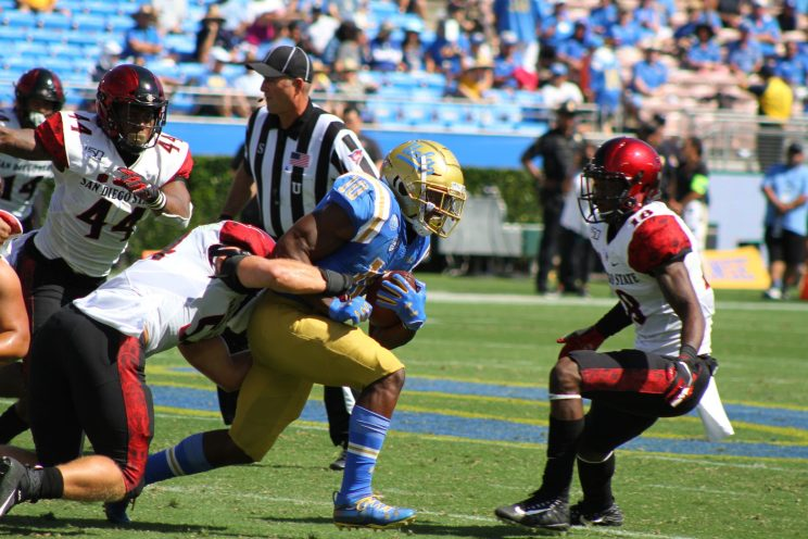 UCLA plays San Diego State