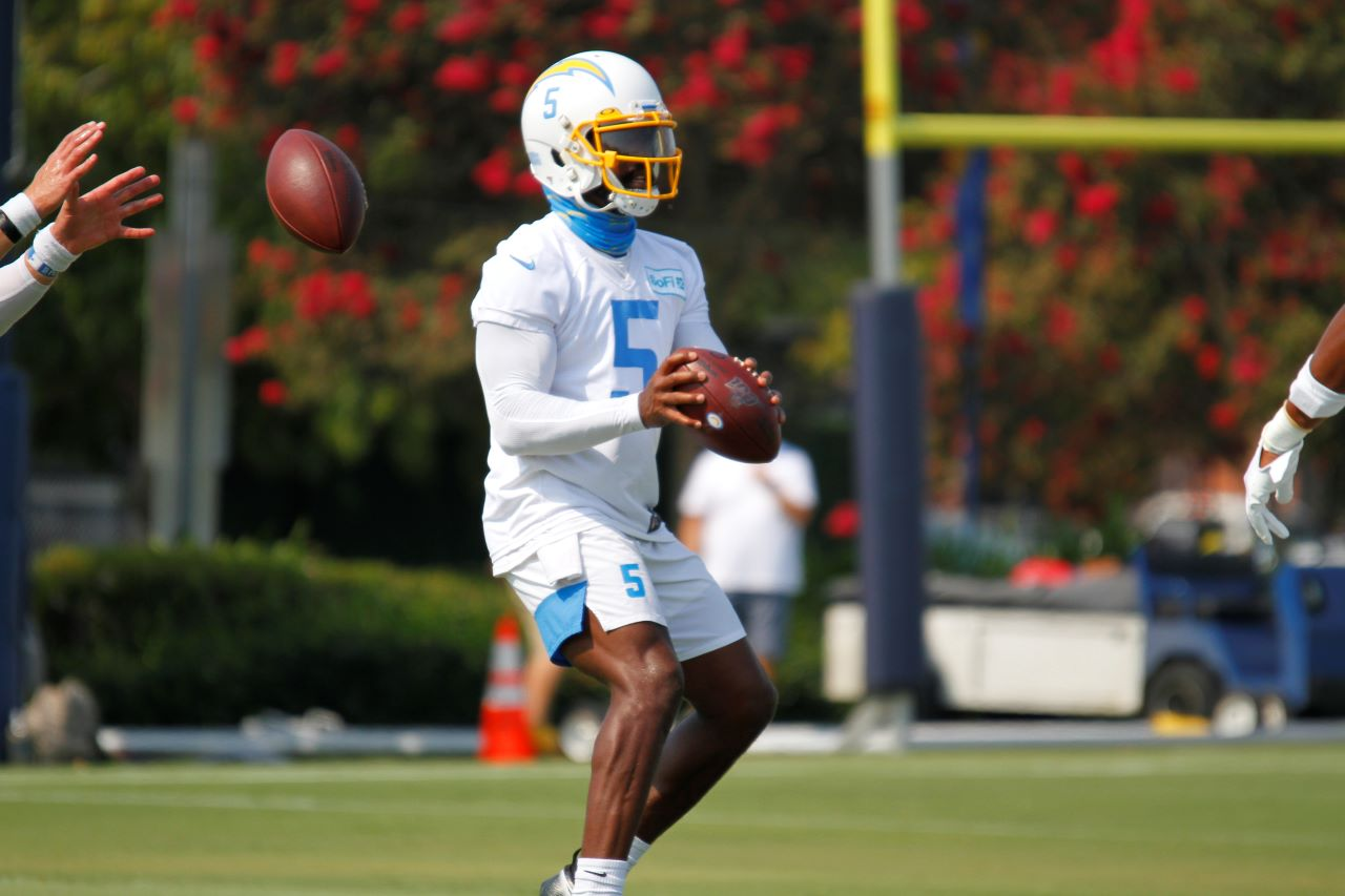 © News4usonline - The Los Angeles Chargers had an abbreviated summer training camp due to the COVID-19 pandemic. Coming off a 5-11 season in 2019, the Chargers came into the 2020 NFL season with lofty ambitions, including making the playoffs. Photo by Dennis J. Freeman for News4usonline