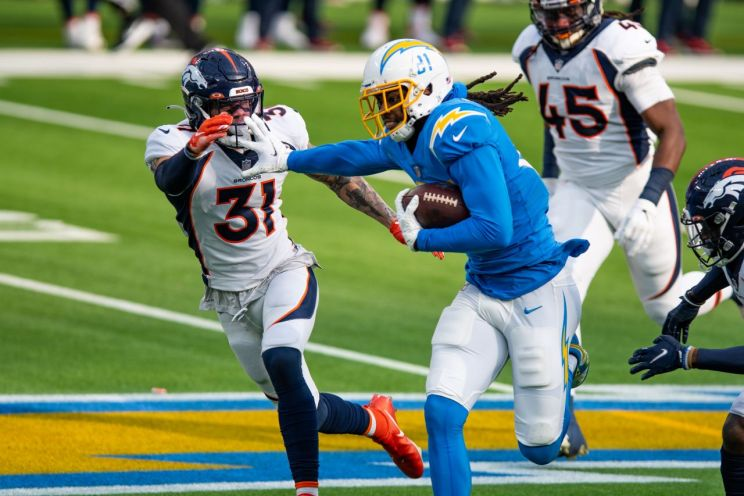 Los Angeles Chargers wide receiver Mike Williams