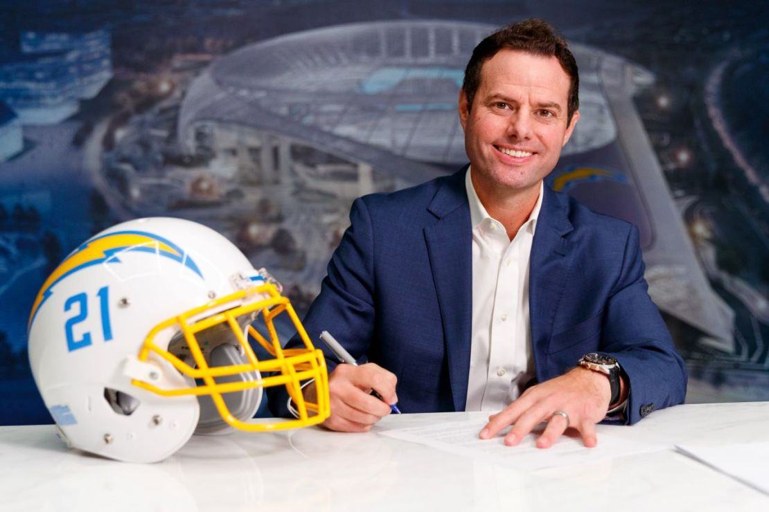 Los Angeles Chargers head coach Brandon Staley